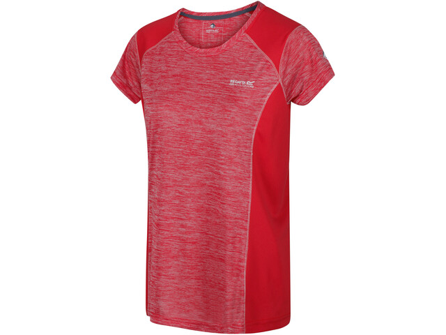 Regatta Breakbar V Camiseta Mujer, rojo